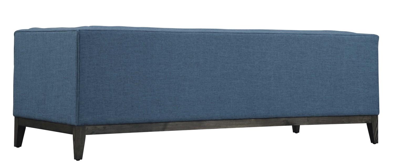 TOV Furniture Gavin Blue Linen Sofa