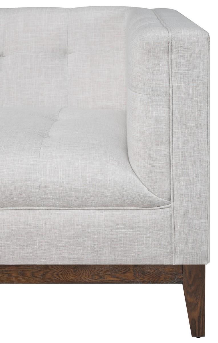 TOV Furniture Gavin Beige Linen Sofa