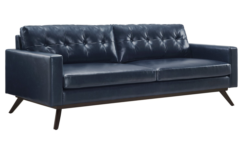 TOV Furniture Blake Antique Blue Sofa