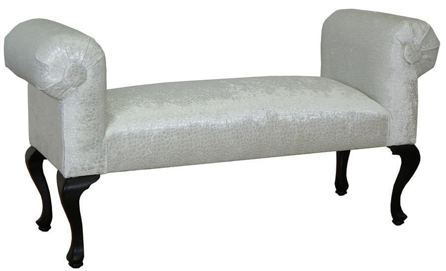 Triad Upholstery Holly Bench - Excite Red