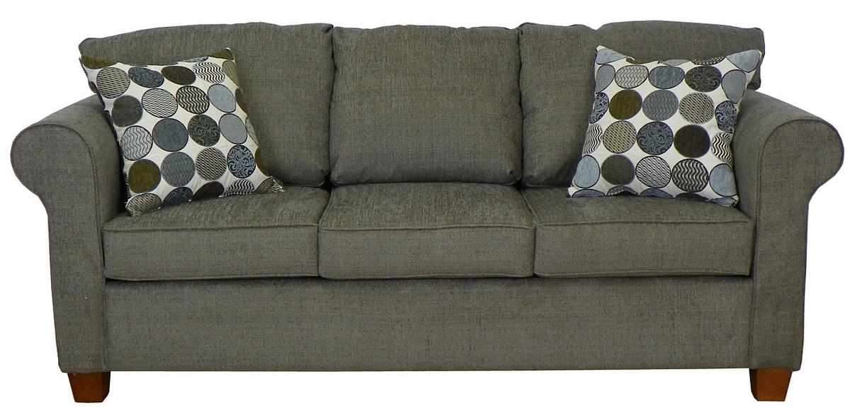 Triad upholstery kathy sofa butler grey 4400 s bg at for Sofa butler