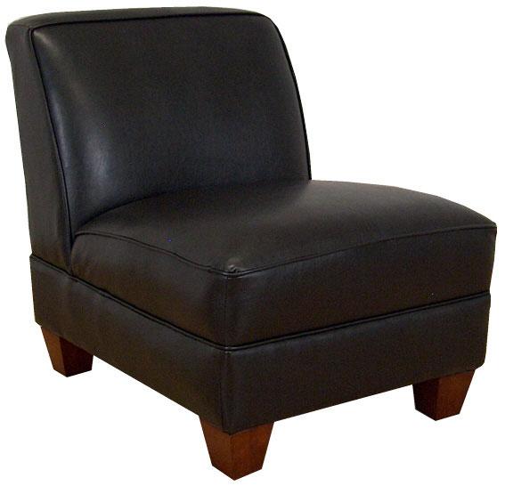 Triad Upholstery Sally Armless Chair - Bike Brown