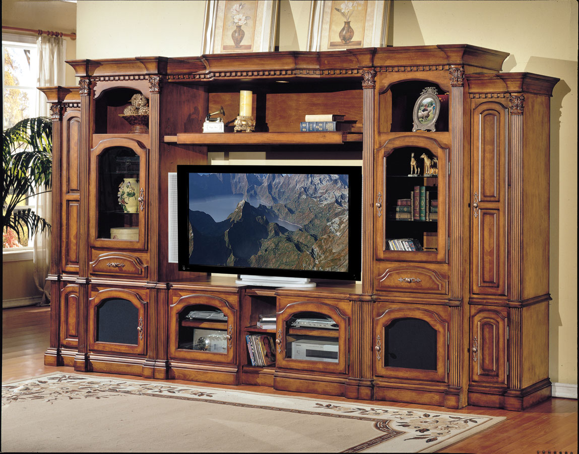 Cheap Parker House Tuscany 6 pc Entertainment Center