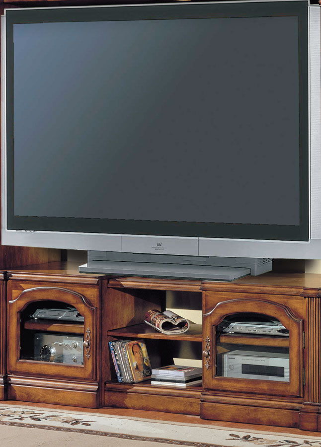 Photo of Parker House Tuscany X-pandable TV Console (Entertainment Center Furniture, Wall Unit, TV Stand)