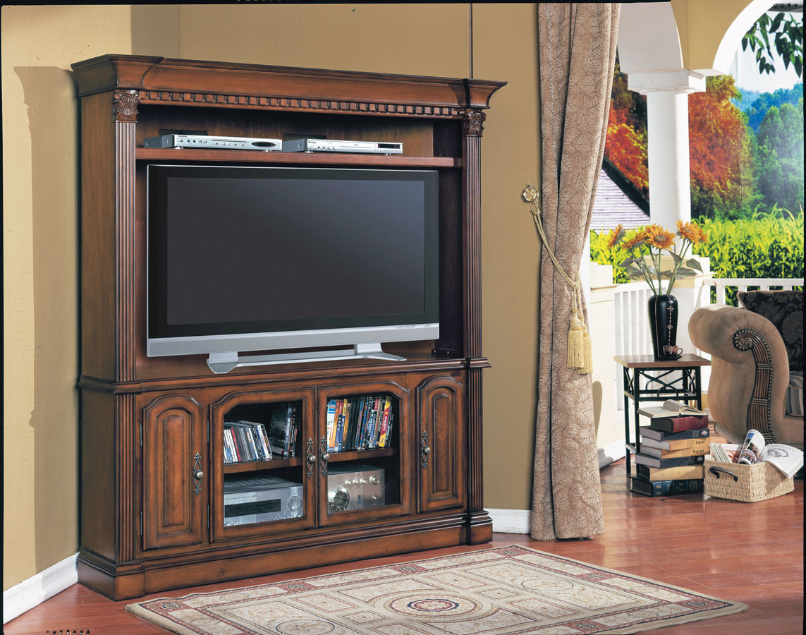 Cheap Parker House Tuscany LCD Plasma TV Corner Entertainment Center