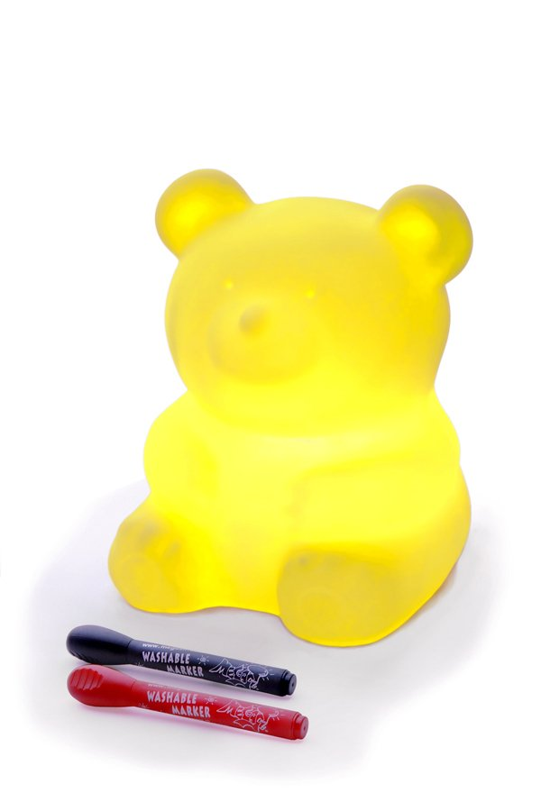 offi Terribear Jr Mypetlamp - Mellow Yellow