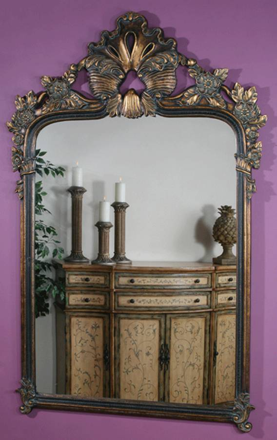 Ultimate Accents Marbella Large Baroque Mirror