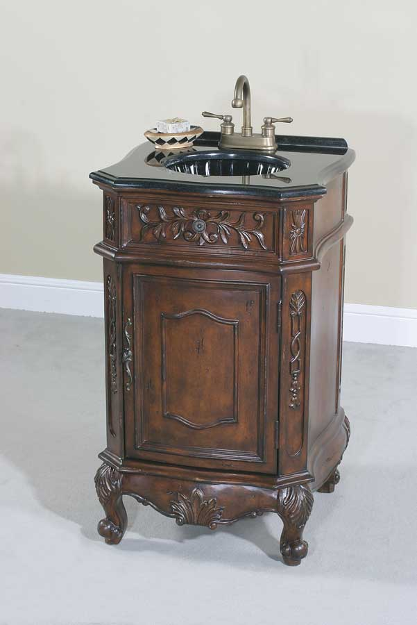Cheap Ultimate Accents Walnut 20in Vanity