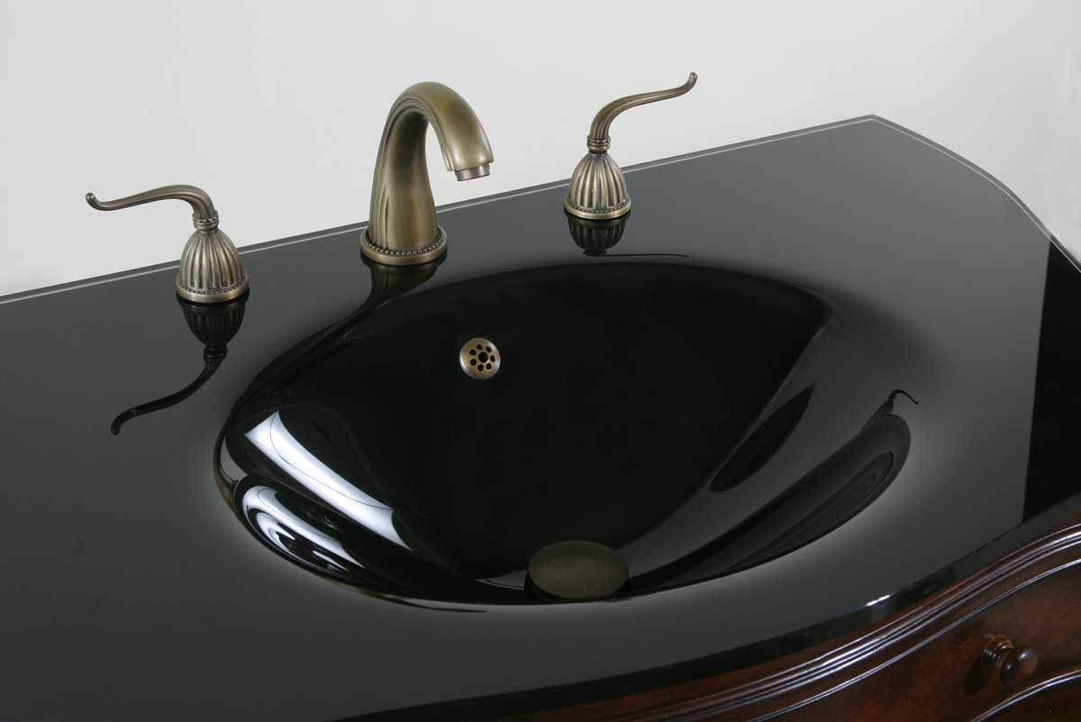 Ultimate Accents 36in Mahogany Vanity