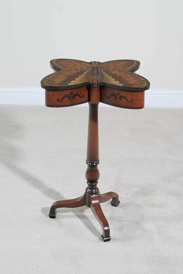 Cheap Ultimate Accents Circa Butterfly Accent Table