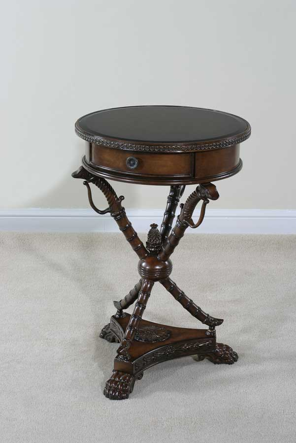 Cheap Ultimate Accents Madrid Sword Base End Table