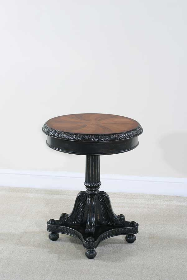 Cheap Ultimate Accents Preswick Marquetry End Table