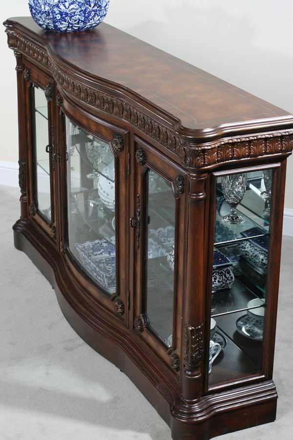 Beau Ultimate Accents Classica Curio Console Buffet