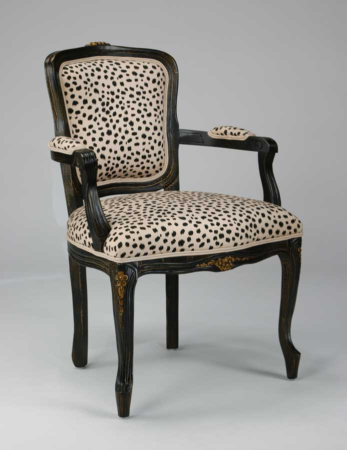 Ultimate Accents Megan Dalmatian Chair