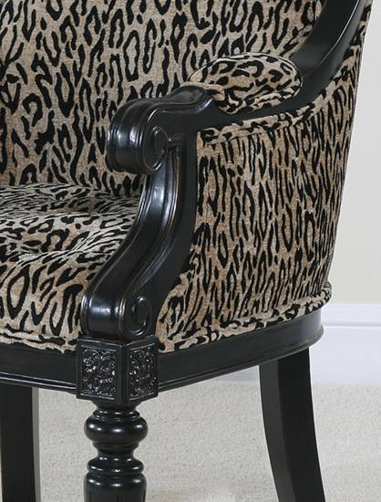 Ultimate Accents Monty Ocelot Chair