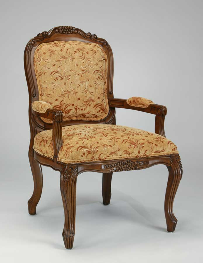 Ultimate Accents Rita Harvest Leaf Jacquard Chair