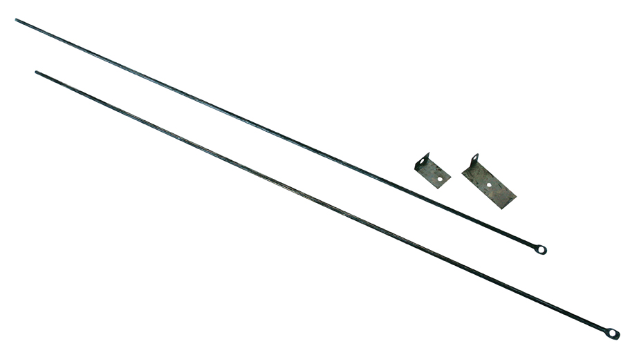 UniFlame Fireplace Curtain Rod Uniflame C 6800 At