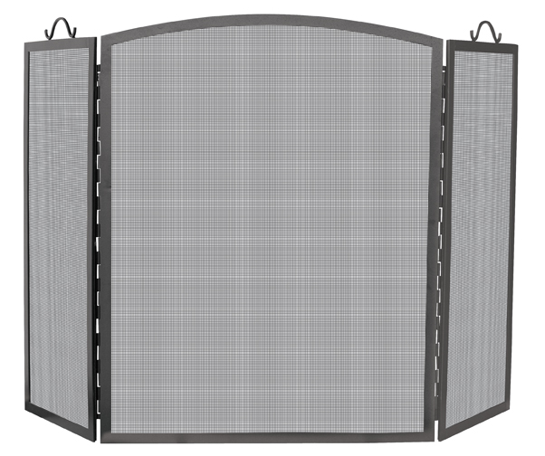 UniFlame Large 3 Panel Arch Top Screen - Uniflame