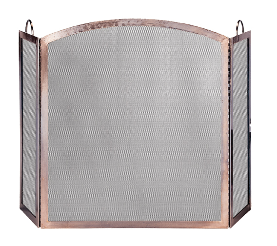 UniFlame 3 Panel Screen with Arched Center Panel - Uniflame