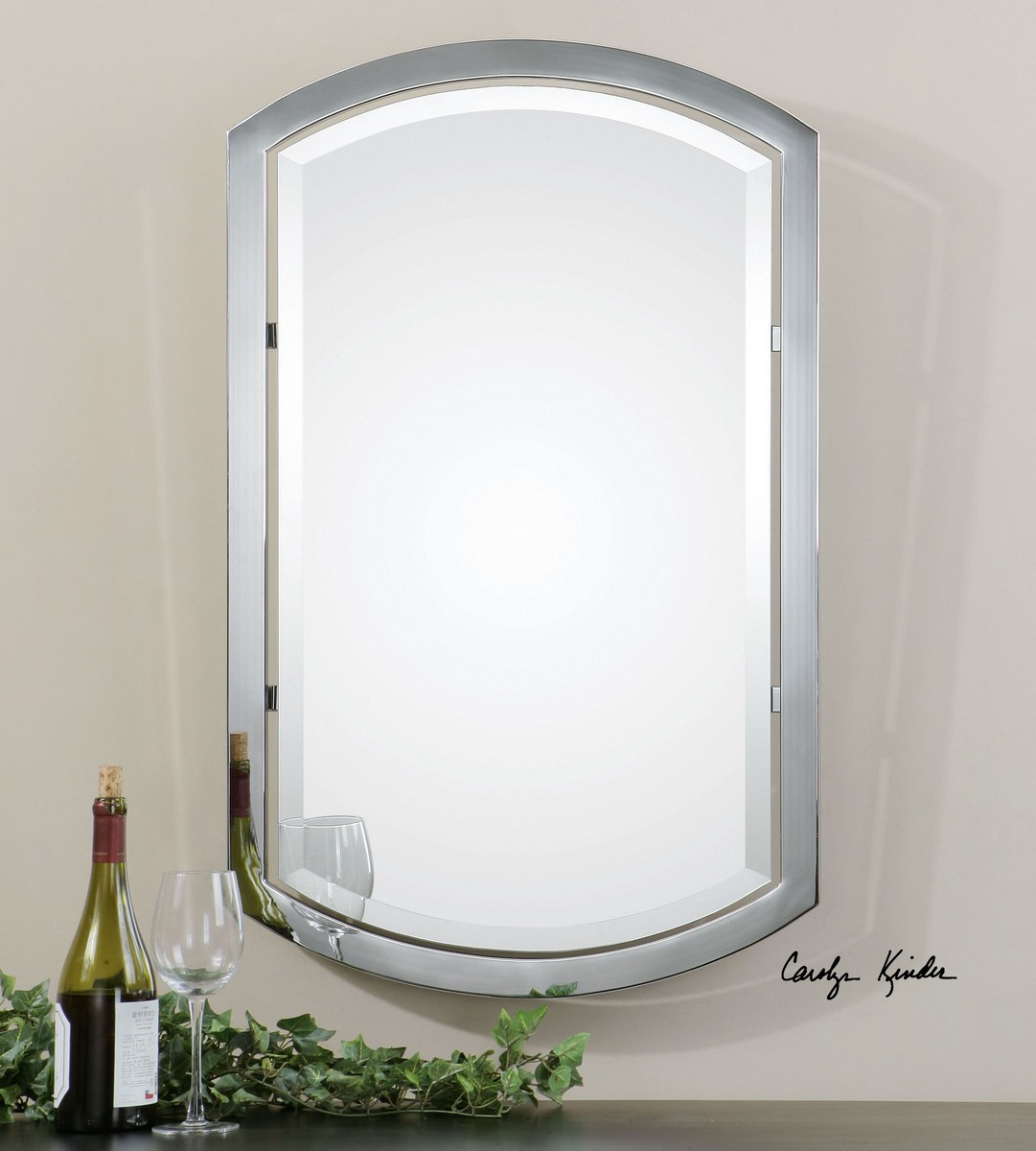 Uttermost Jacklyn Arched Metal Mirror