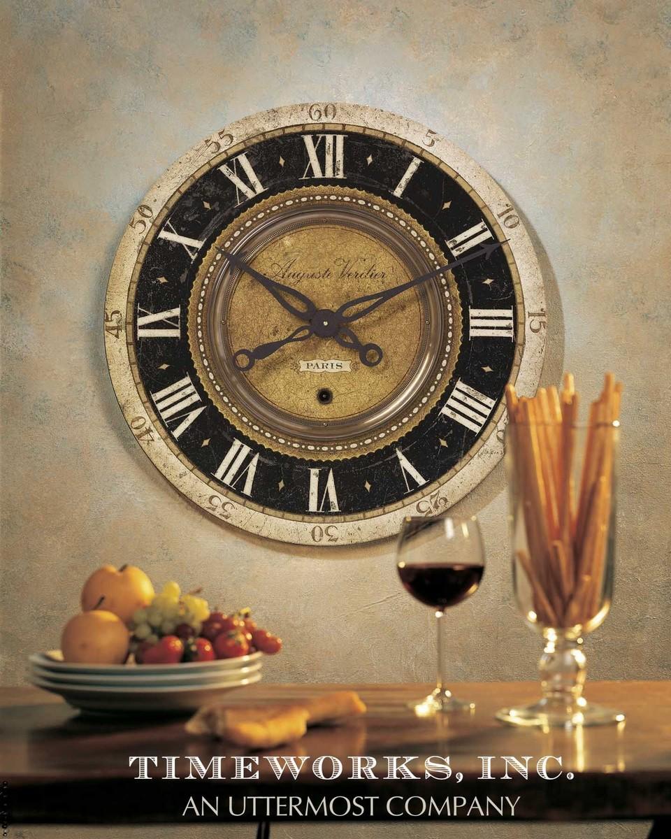 Uttermost Auguste Verdier 27 Wall Clock