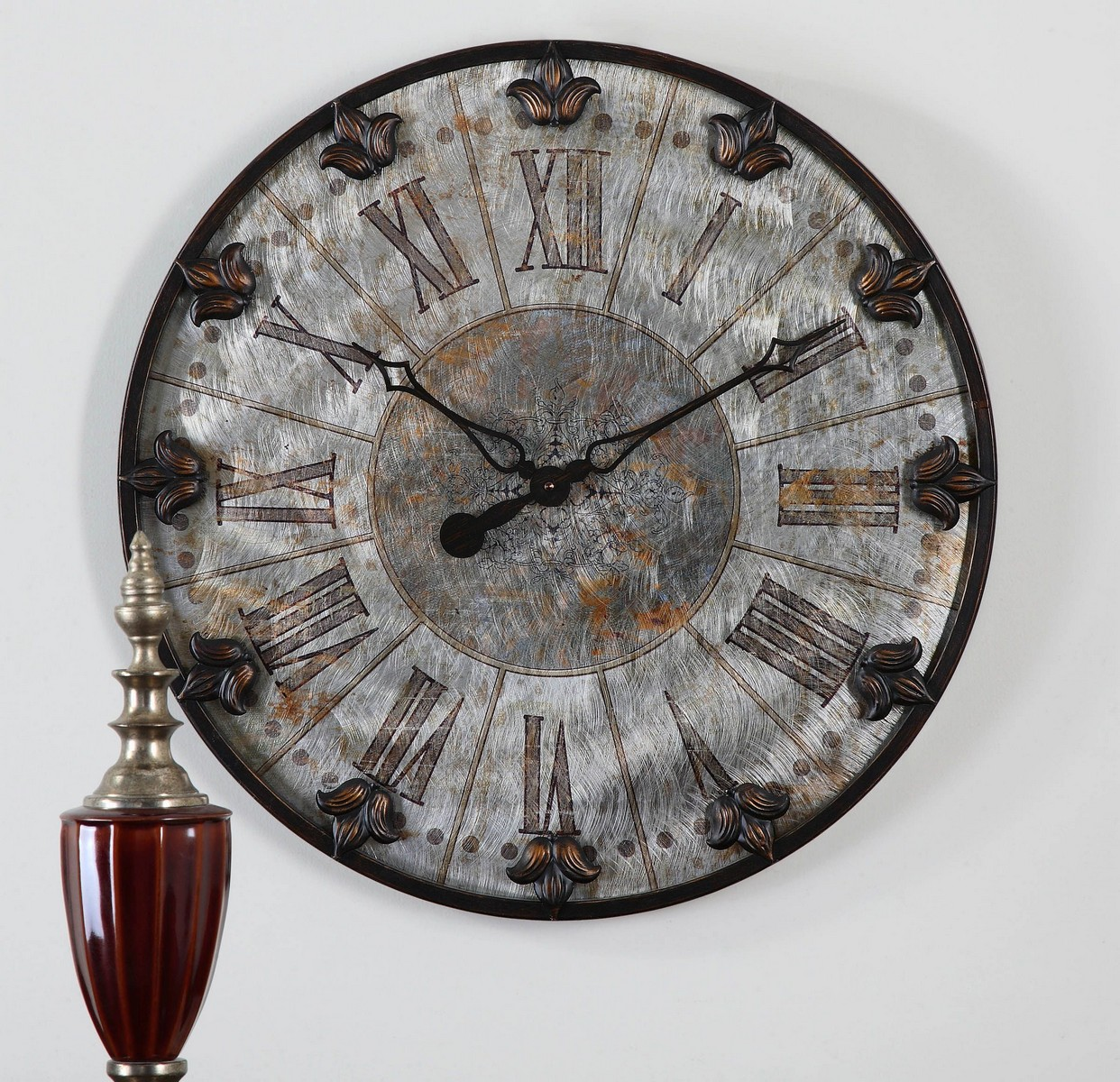 Uttermost Artemis Antique Wall Clock