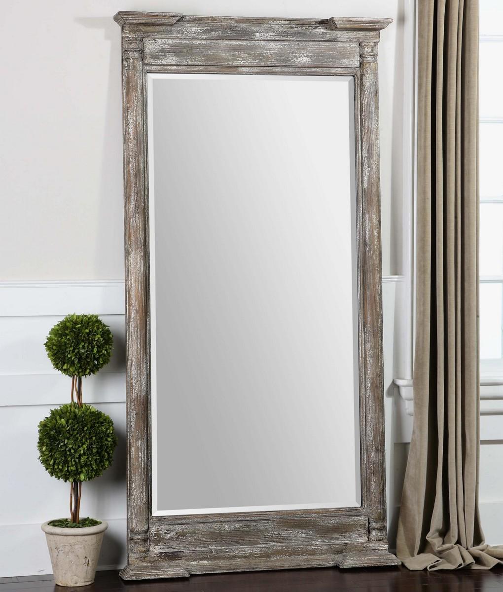 Uttermost Valcellina Wooden Leaner Mirror