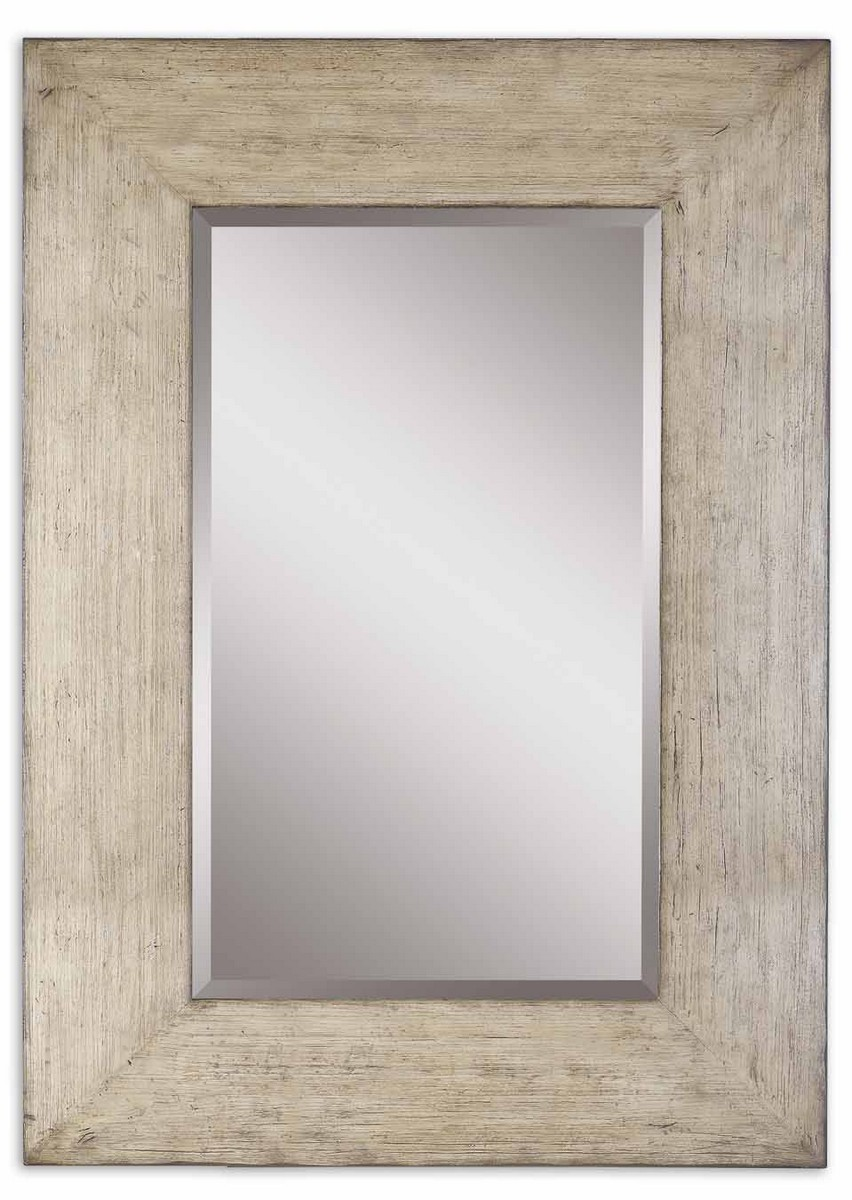 Uttermost Langford Natural Wood Mirror