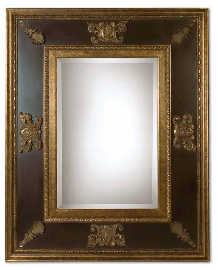 Uttermost Cadence Antique Gold Mirror