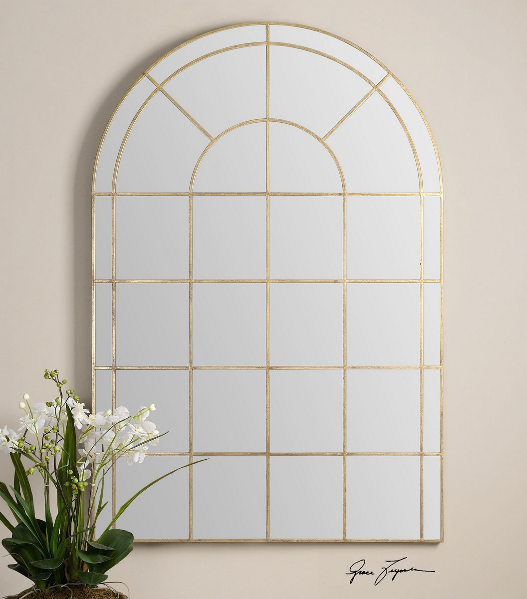 Uttermost Grantola Arched Mirror