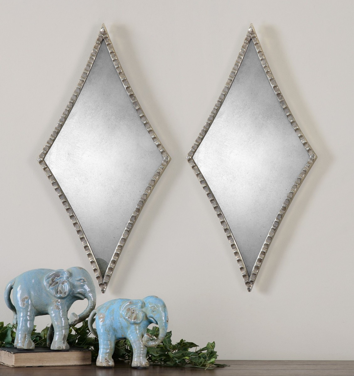 Uttermost Gelston Silver Mirror