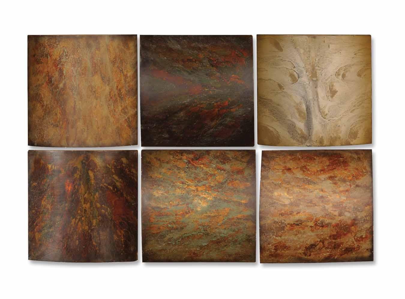 Uttermost Klum Collage Wall Art - Set of 6 13355