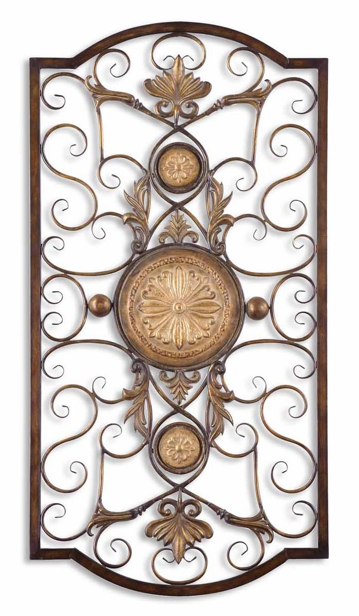 uttermost micayla large metal wall art uttermost 13476 at. Black Bedroom Furniture Sets. Home Design Ideas
