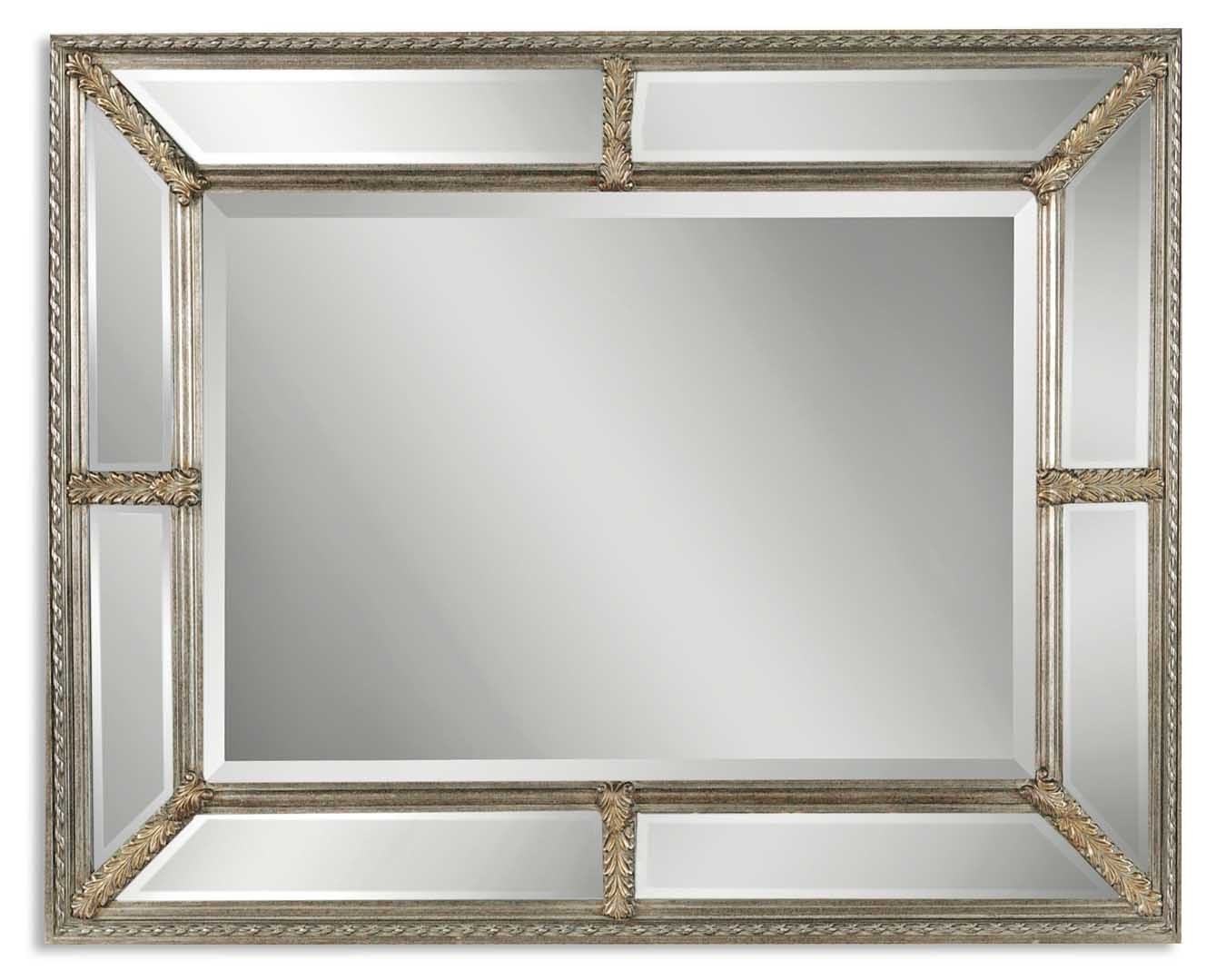 Uttermost Lucinda Antique Silver Mirror Uttermost 14048 B