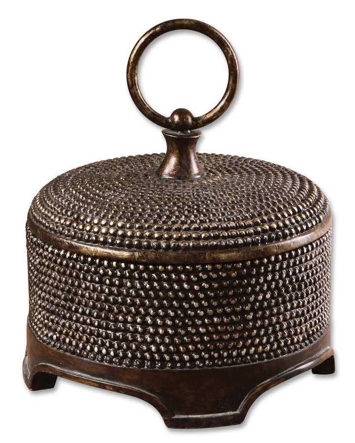 Uttermost Aubriana Distressed Decorative Box