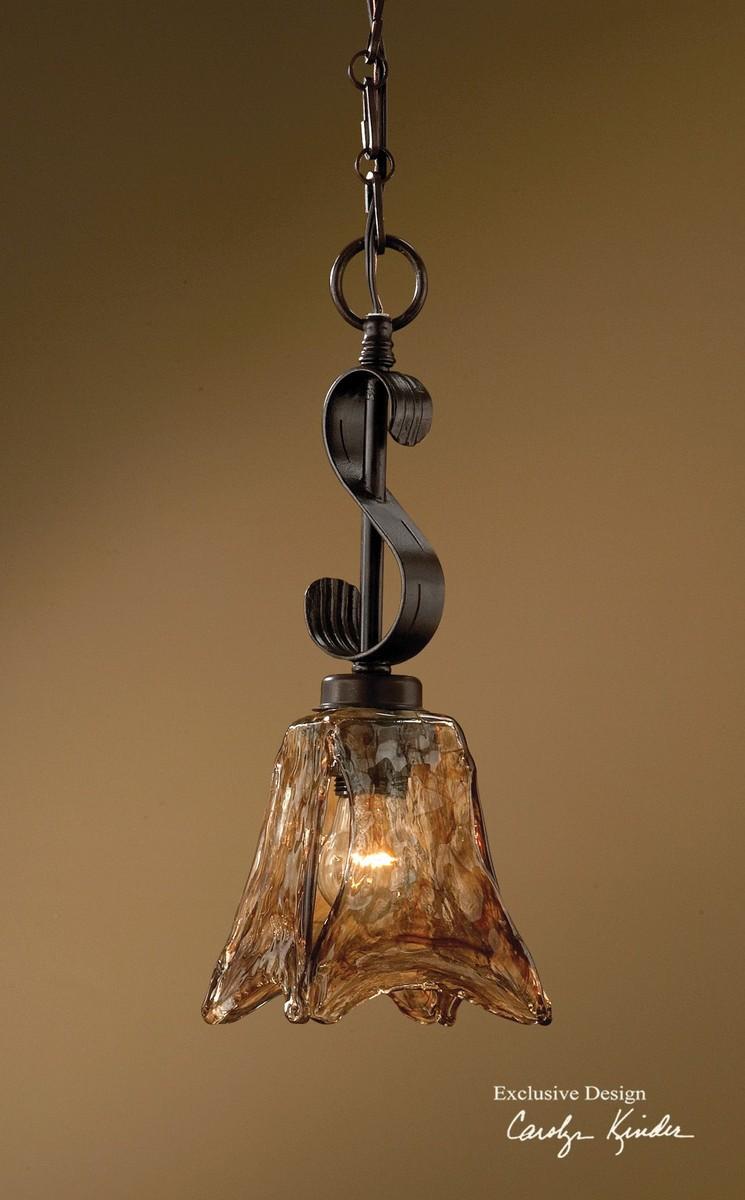 Uttermost Vetraio Mini Oil Rubbed Bronze Pendant