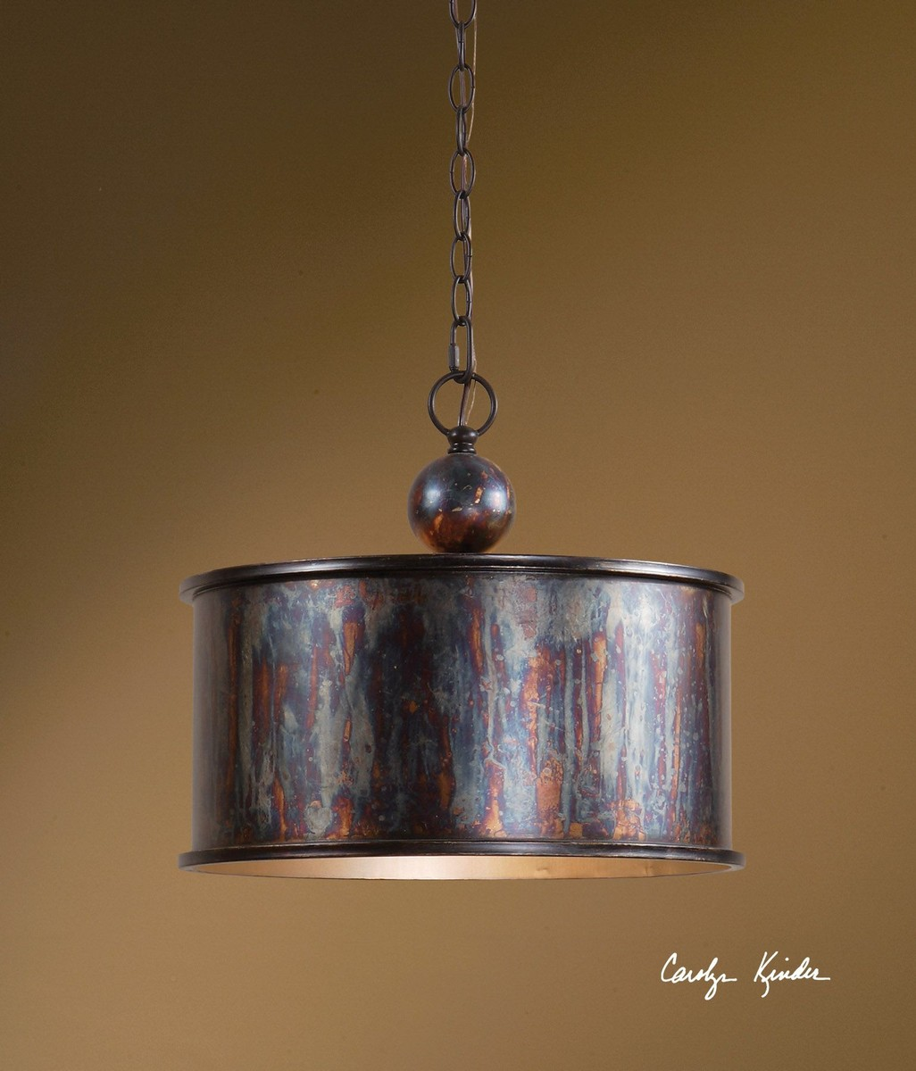 Uttermost Albiano 1 Light Oxidized Bronze Pendant