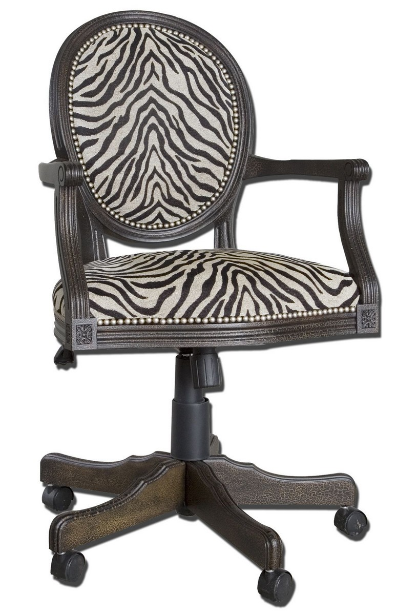 Uttermost Yalena Swivel Desk Chair 23077