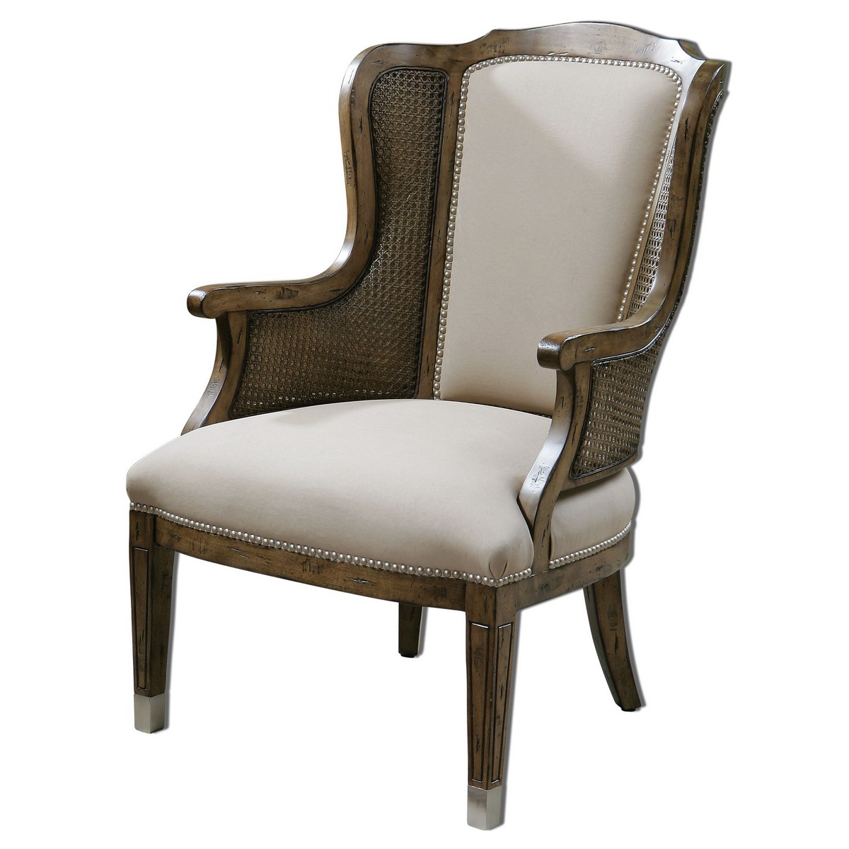Uttermost Nessa High Back Wing Chair