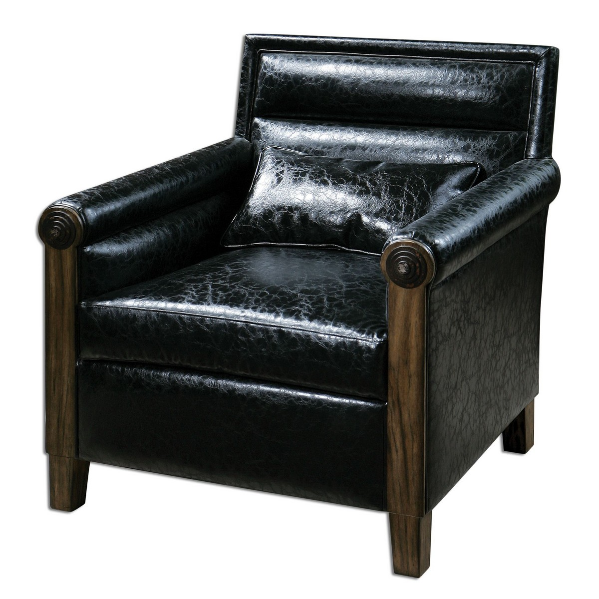 Uttermost Ormond Leather Armchair