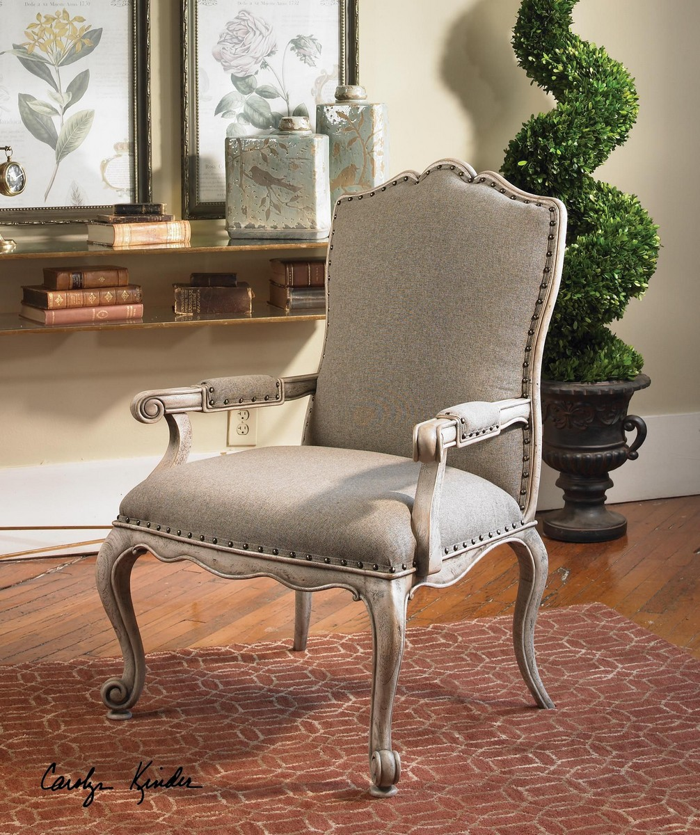 Uttermost Jonas Antiqued ArmChair