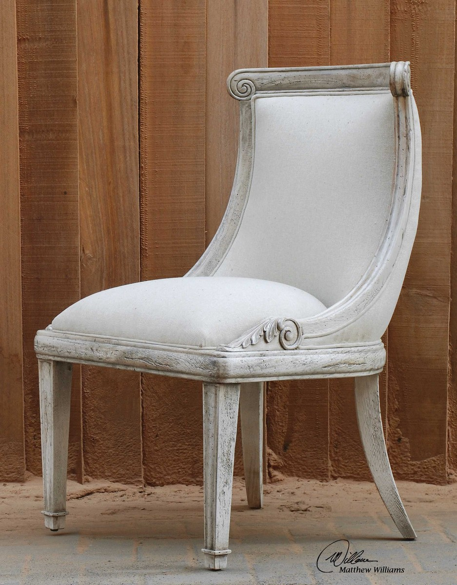 Uttermost Anesio Armless Chair