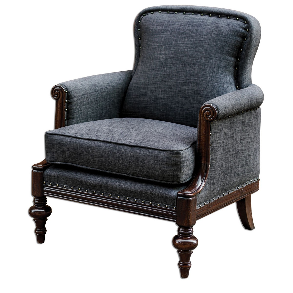 Uttermost Hooper English Armchair