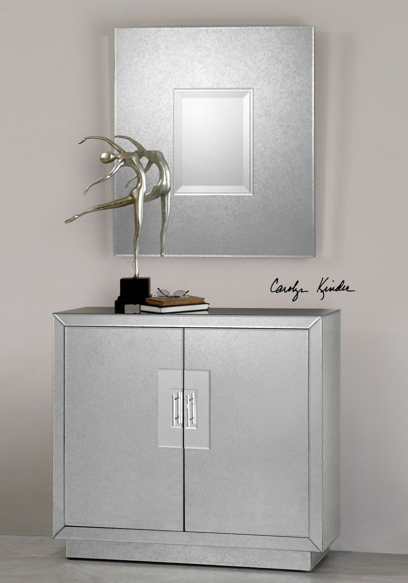 Uttermost Andover Mirrored Cabinet