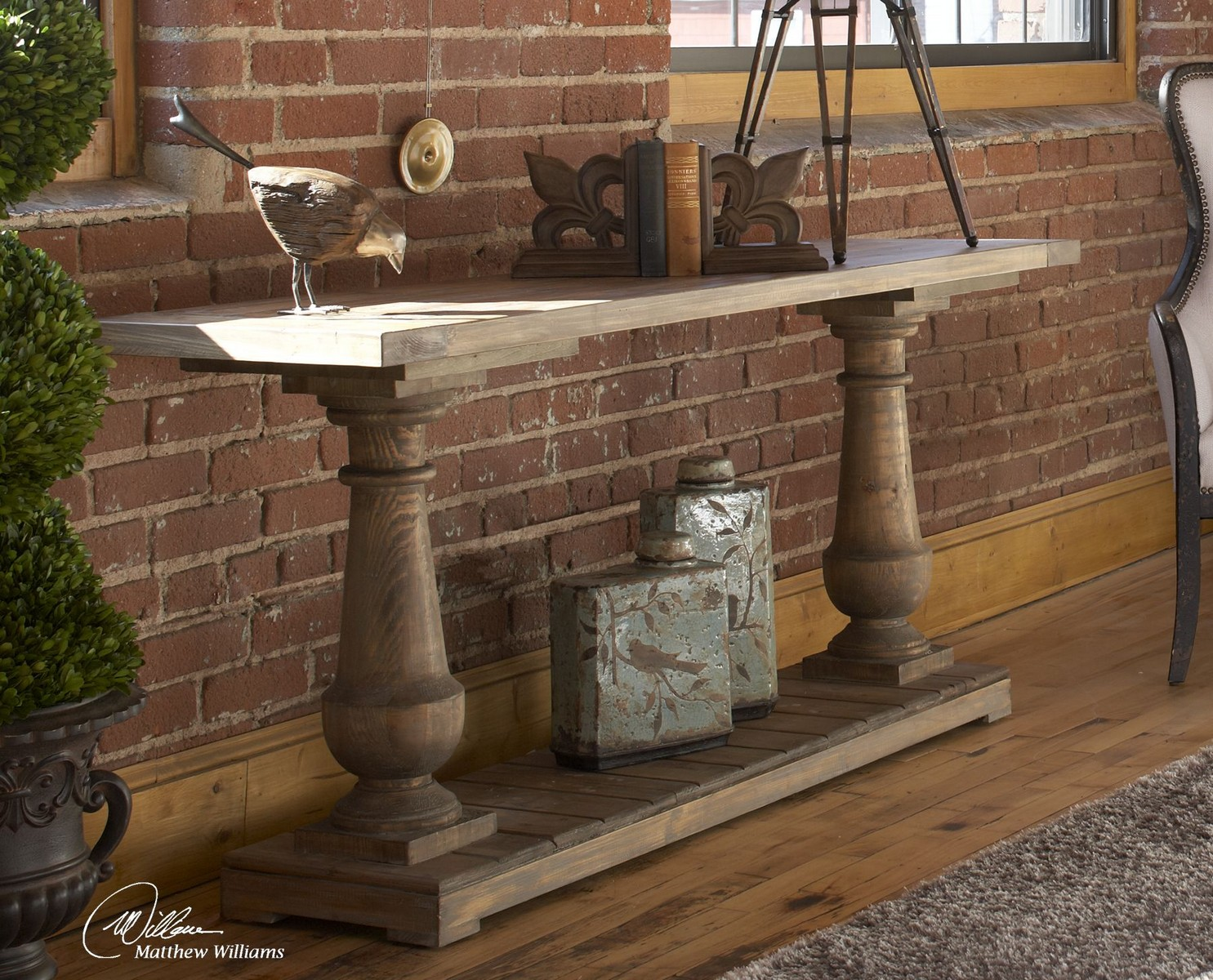 Uttermost Stratford Rustic Console