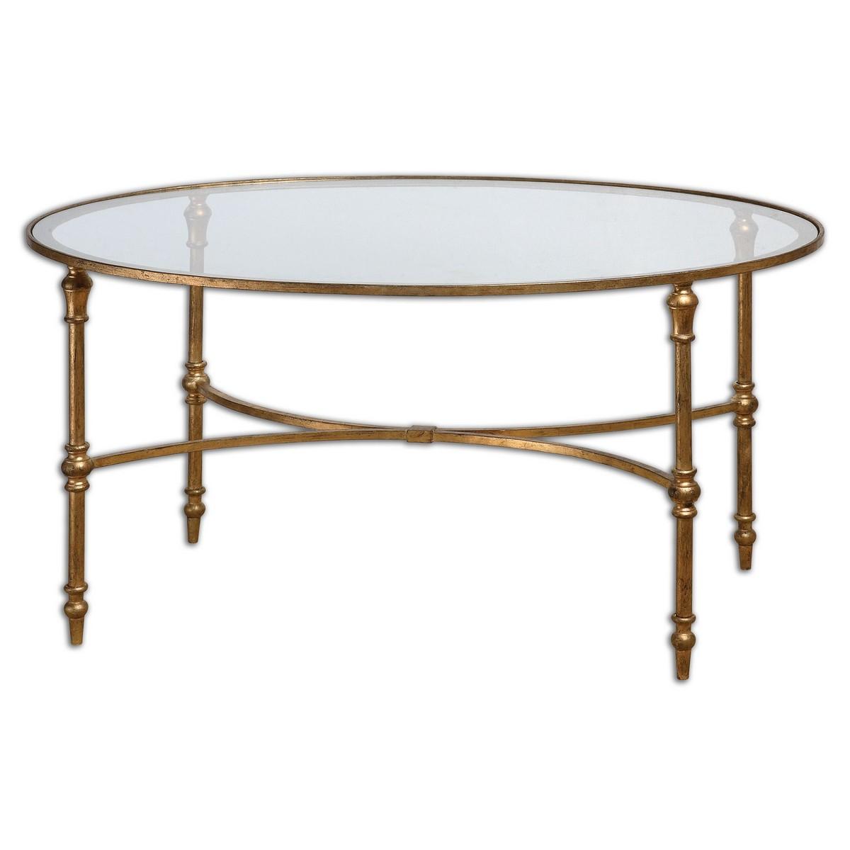 Uttermost Vitya Glass Coffee Table 24338
