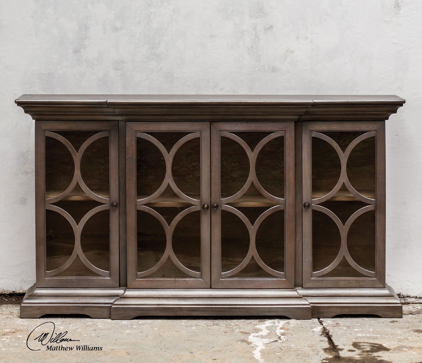Uttermost Belino Wooden 4 Door Chest