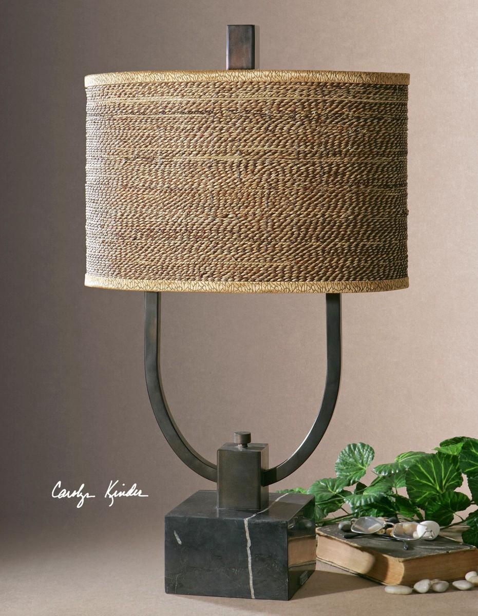 Uttermost Stabina Metal Table Lamp