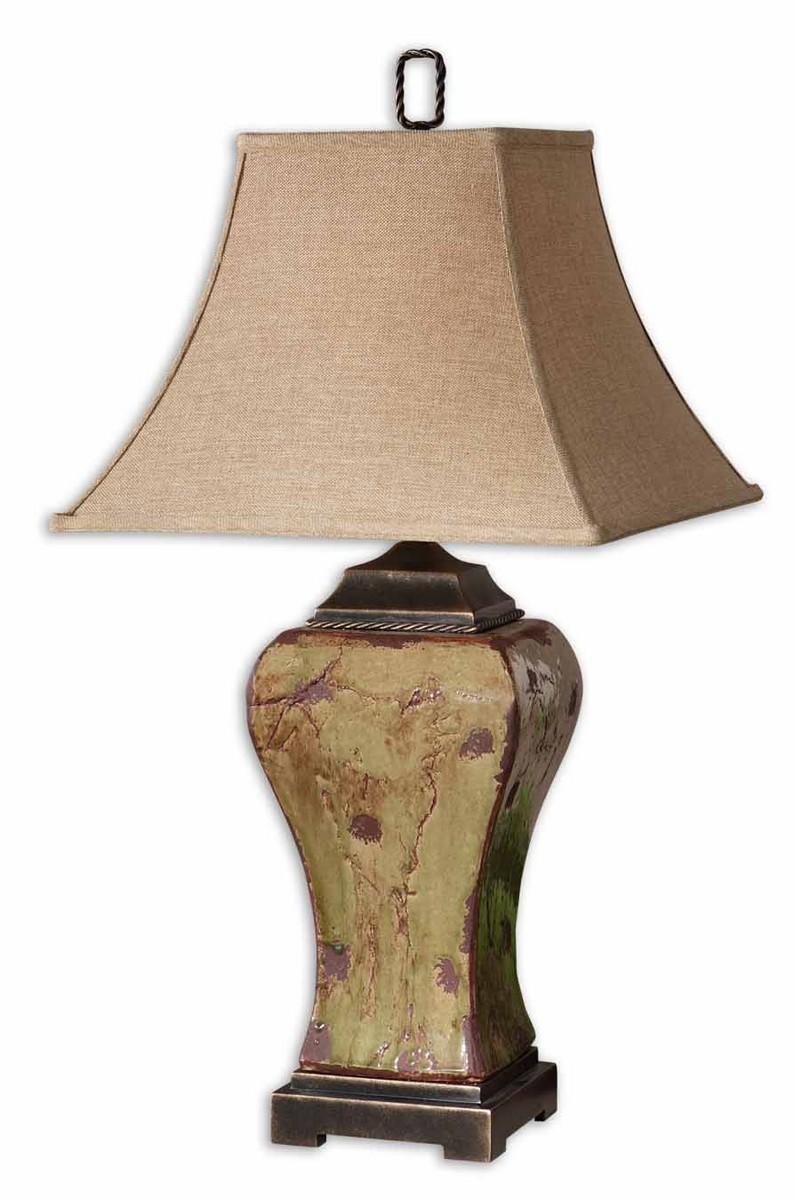 Uttermost Porano Green Table Lamp