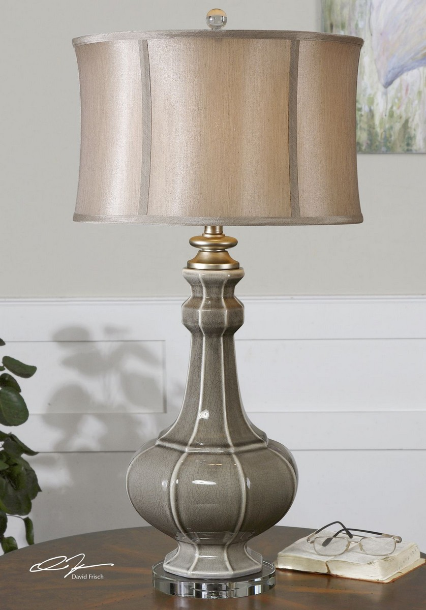 Uttermost Racimo Gray Table Lamp